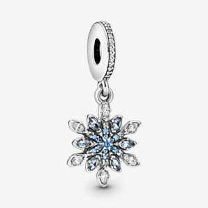 Pandora Shimmering Snowflake Dangle Charm